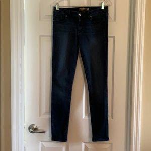 Paige stretch skinny ankle jeans. Size 30
